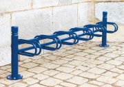 Modular Decorative Bicycle Stands