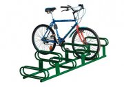 The 6-Space Bicycle Stand (low - high)