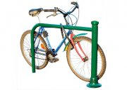 Classic hoop bicycle stand